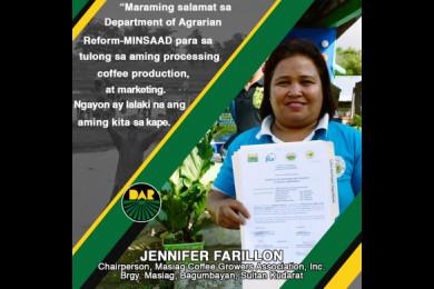 Layon ng DAR-MinSAAD project na matulungan at palakasin ang mga Agrarian Reform Beneficiaries Organizations sa buong bansa.