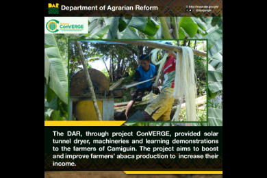 The program is one of the mechanisms that DAR is facilitating to help farmers improve their quality of life.