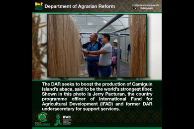 DAR project aims to increase agricultural productivity and promote the welfare and development of farmers.