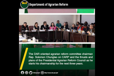 The Committee on Agrarian Reform has jurisdiction to all matters relating to agrarian reform, the resettlement of and other support services for agrarian reform beneficiaries, and the implementation and amendment of the Comprehensive Agrarian Reform Law.