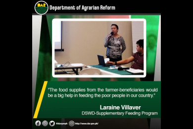 Shared thoughts from one of the participants during the DAR's Partnership Against Hunger and Poverty Program Assessment and CY 2020 Planning held in Quezon City. #AgrarianReformPH #SupportServicesDelivery