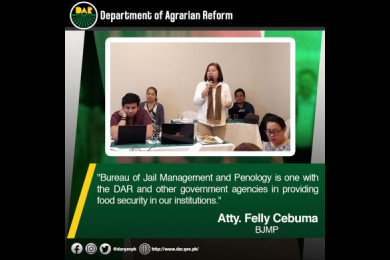 Atty. Cebuma pledges her commitment during the DAR's Partnership Against Hunger and Poverty Program Assessment and CY 2020 Planning held in Quezon City. #AgrarianReformPH #SupportServicesDelivery