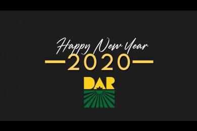 DAR 2020 New Year greetings.