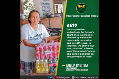 """DAR Ilocos coop opens """"panic lista"""" to help community cope up with Covid-19. #AgrarianReformPH #SupportServicesDelivery"""