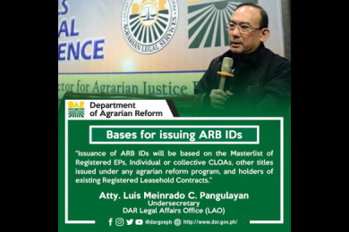 """Talking about the Memorandum Circular No 4, Series of 2020 released by the DAR intended to farmer beneficiaries to be able to """"cope-up"""" with Covid-19. #AgrarianReformPH #SupportServicesDelivery"""