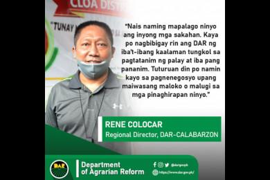 153 magsasaka ng Rizal tumanggap ng titulo ng lupa mula sa DAR.