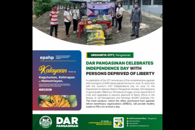 DAR  Pangasinan Celebrates Independence Day with Persons Deprived of Liberty