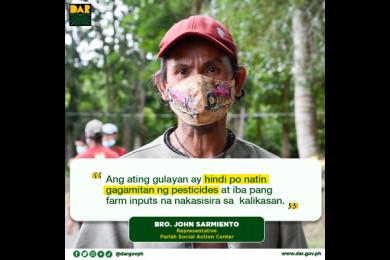 Ang proyektong Buhay sa Gulay sa Oriental Mindoro ay nasa lupain ng Apostolic Vicariate of Calapan at may sukat na 5,000 square meters para pagtaniman at may potensyal pang madagdagan ng 4,000 square meters.