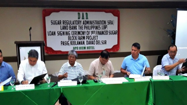 Farmer's group in Davao Del Sur is first recipient of socialized credit program