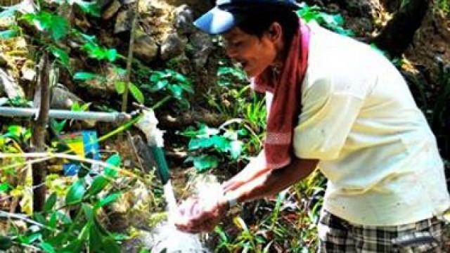 DAR provides potable water in remote Pangasinan barangay