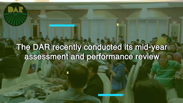 DAR 2019 mid-year formative assessment and performance review.