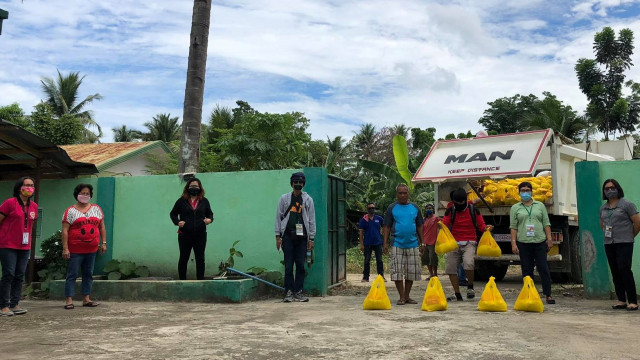 Distribution of relief packages for Davao de Oro farmers still underway