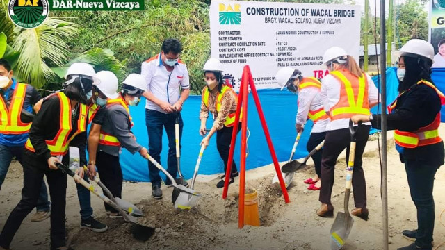P10-M infra project to improve farmers' lives in Nueva Vizcaya