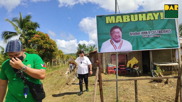 DAR empowers E. Visayas farmers, distributes P48M support services projects and land titles.