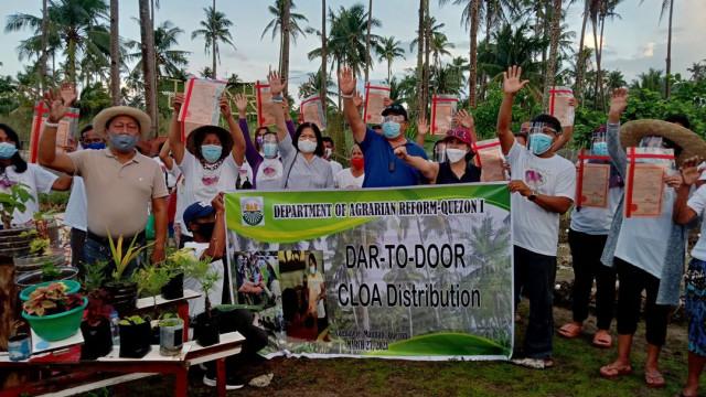 Serbisyong DAR-to-Door sa Quezon.