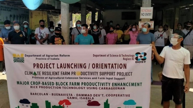 DAR distributes agri farm inputs to boost rice production of 200 farmers in Isabela
