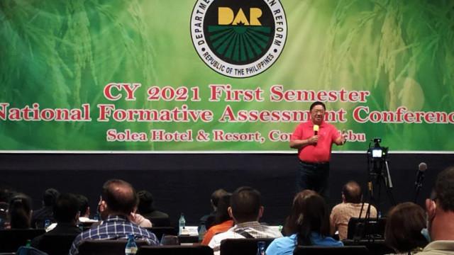 DAR assesses Visayas group 2021 1st semester performance