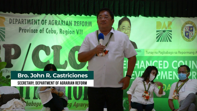 DAR, Cebu local government unit and 3 financial institutions to boost ARBs lives.