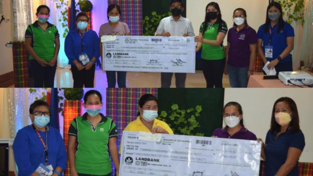 Two ARBOs in Antique receive P1M each livelihood grant