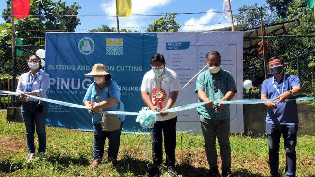 Solar-pump irrigation to boost farmers' production in Rizal province