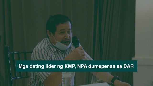 Dating mga lider ng KMP at NPA sa Southern Mindanao sinuportahan ang agrarian reform.