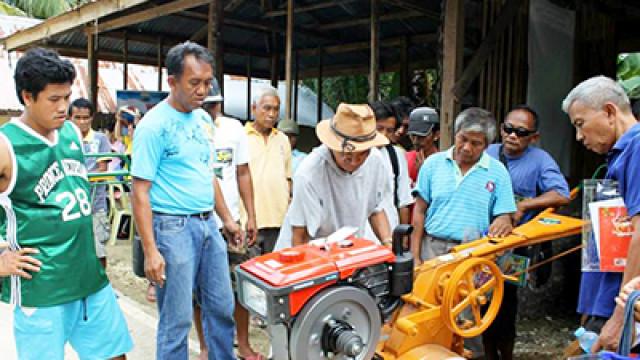 Farm equipments to boost farmer-beneficiaries groups in Cebu