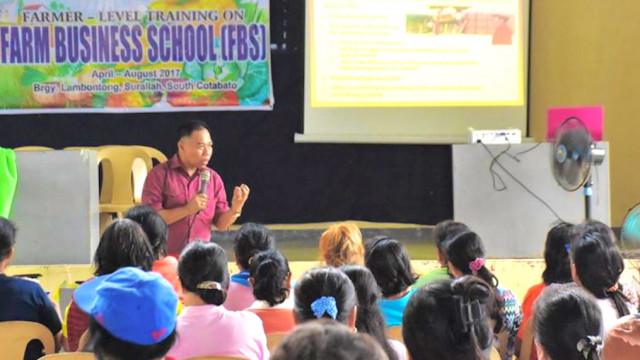 DAR launches farm business school in So. Cotabato