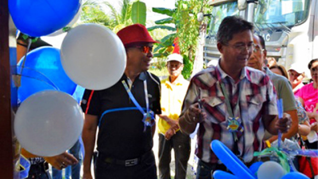 First marketing center for  Sultan Kudarat  farmers